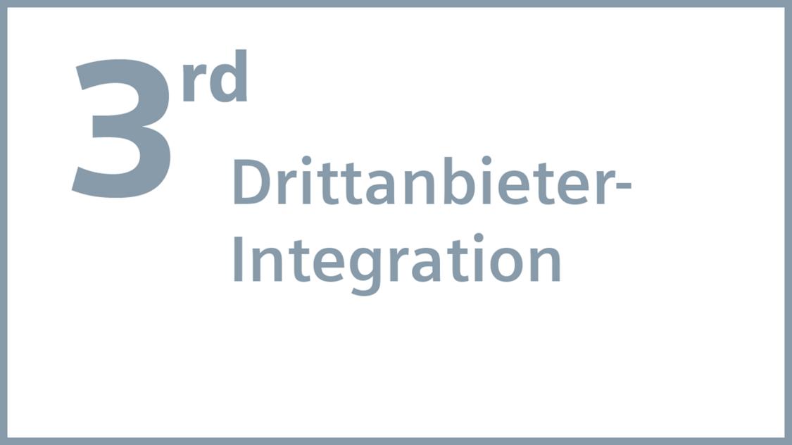Desigo CC für Drittanbieter-Integration