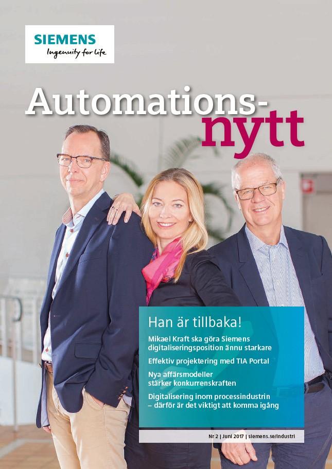 Automationsnytt Nr 2 | Juni 2017