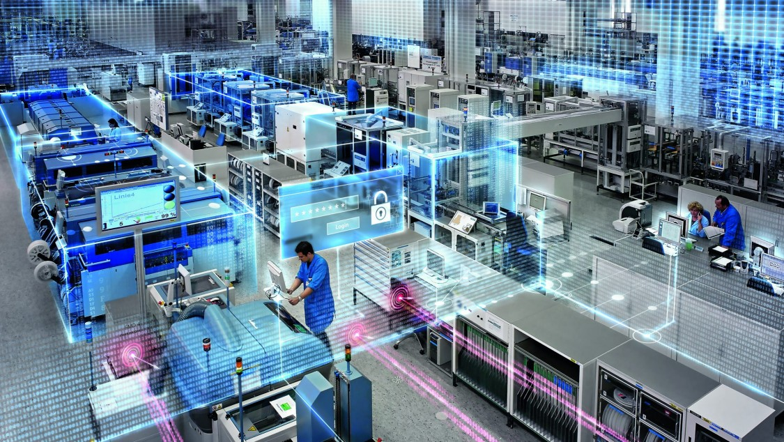 Bild vom Siemens Elektronikwerk in Amberg (EWA)