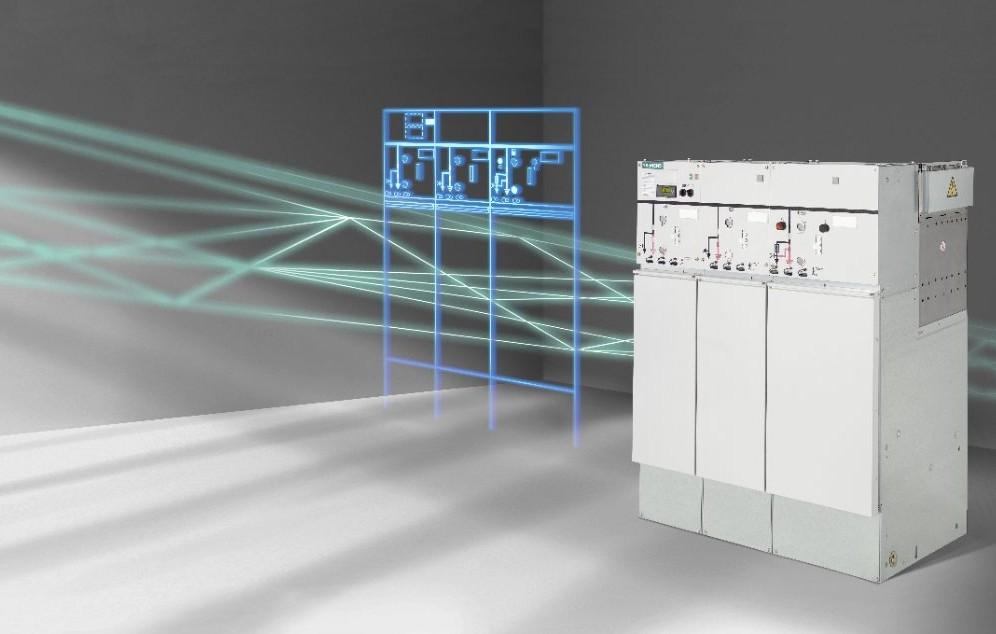 8DJH — комплектна розподільна установка з газовою ізоляцією середньої напруги