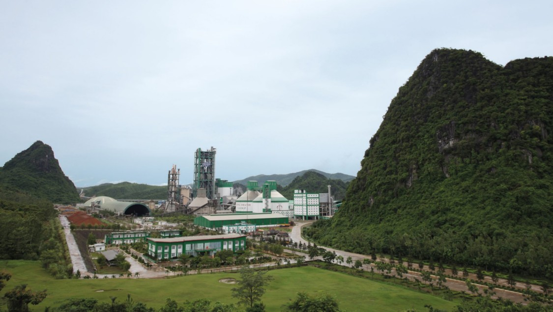 Cong Thanh cement plant