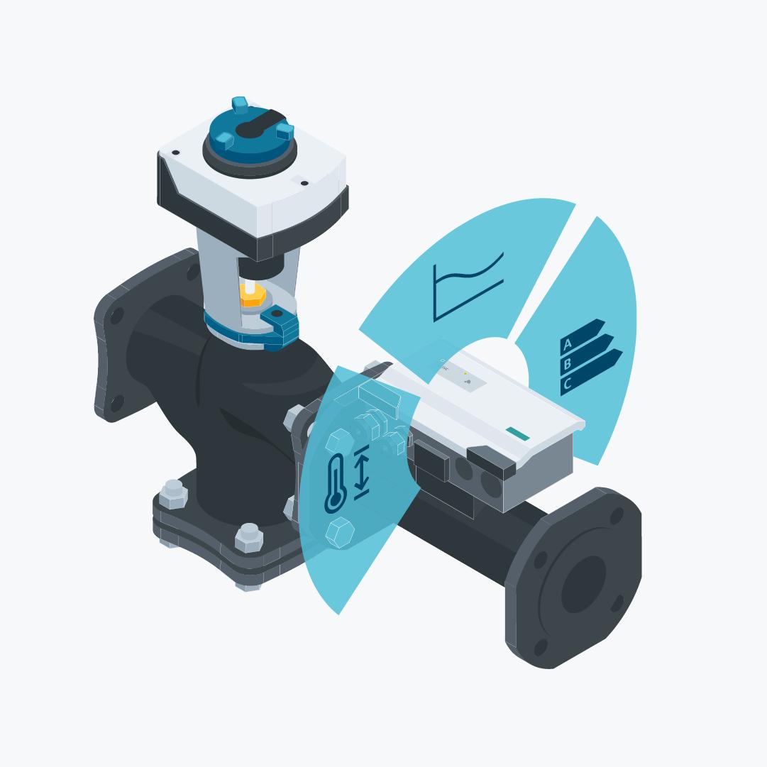 Intelligent Valve from Siemens | Acvatix valves and