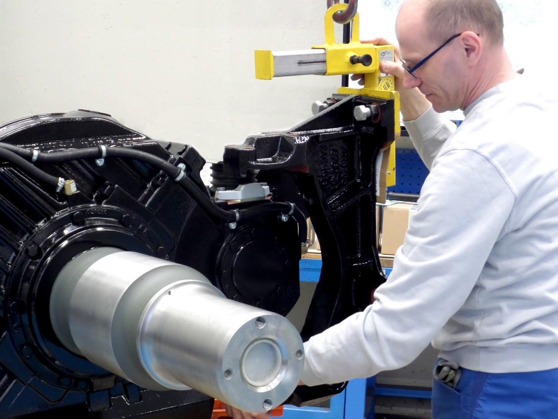 Präzise Fertigung für Siemens Bahngetriebe.