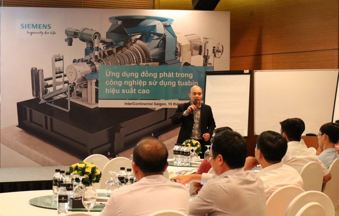 Welcome speech from Siemens Vietnam