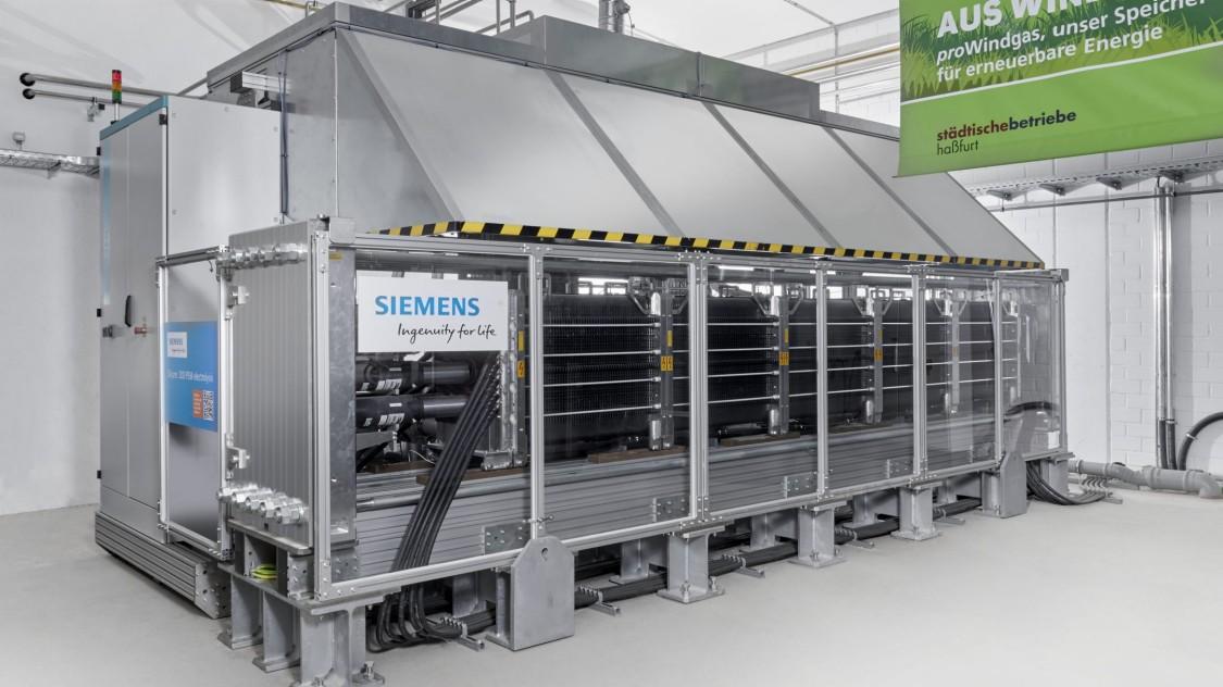 Перша в Німеччині установка з перетворення енергії в газ в 2016 році