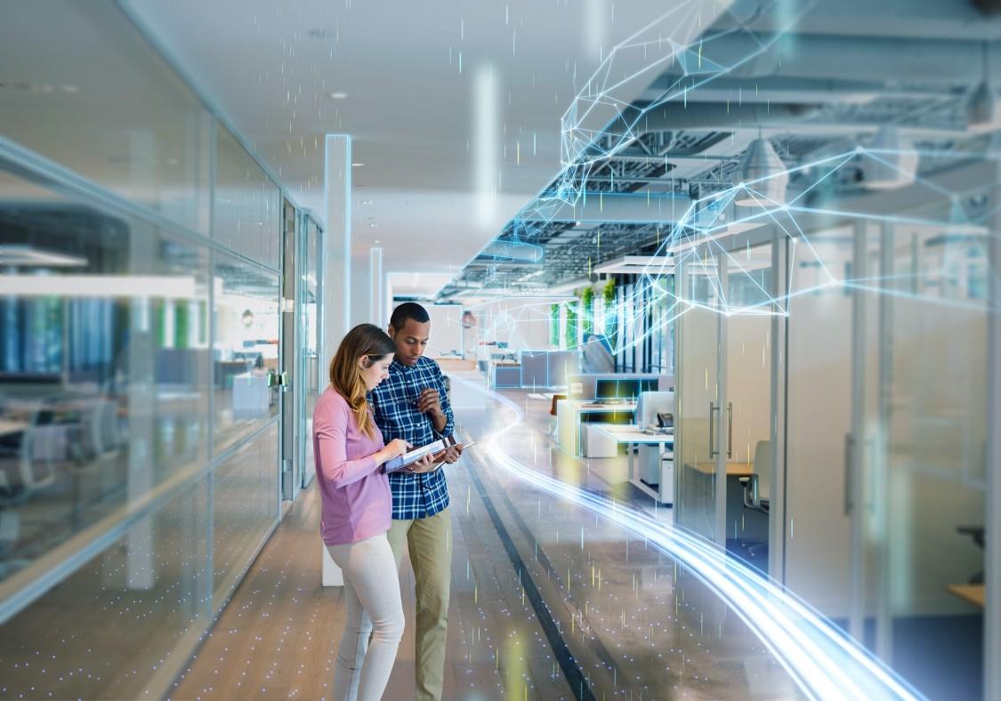 Vitbok (white papaer): Framtidens kontor: Smarta kontor är flexibla och kan anpassa sig efter användarnas behov och krav