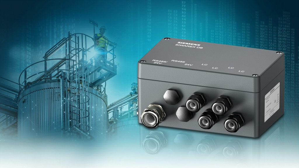 The picture shows the SIWAREX DB junction box