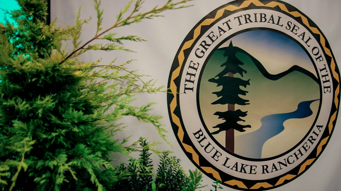 The great tribal seal of the blue lake rancheria