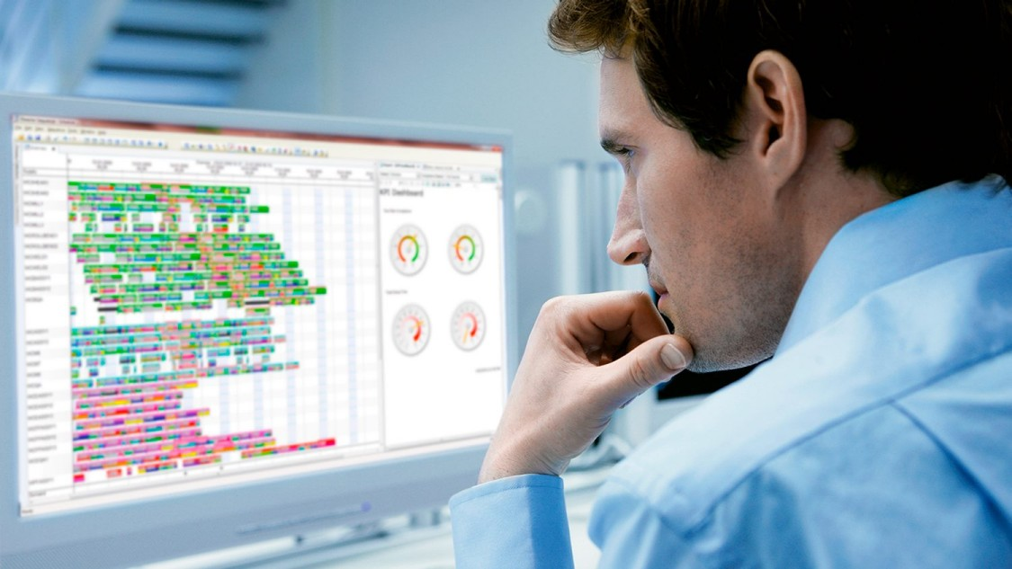 Opcenter Advanced Planning and Scheduling is a solution for constraint-based production planning and shop floor scheduling