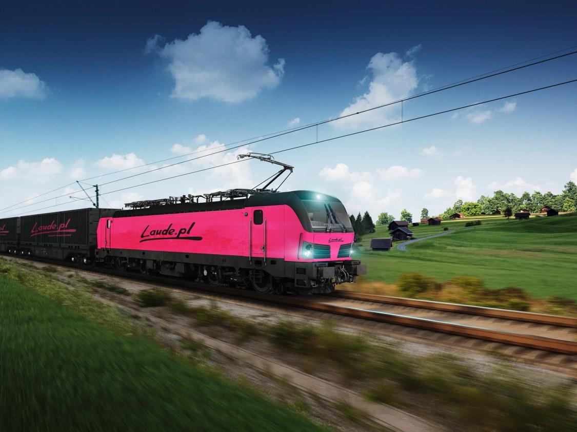 50. lokomotywa Vectron w Polsce – nowy klient Laude Smart Intermodal