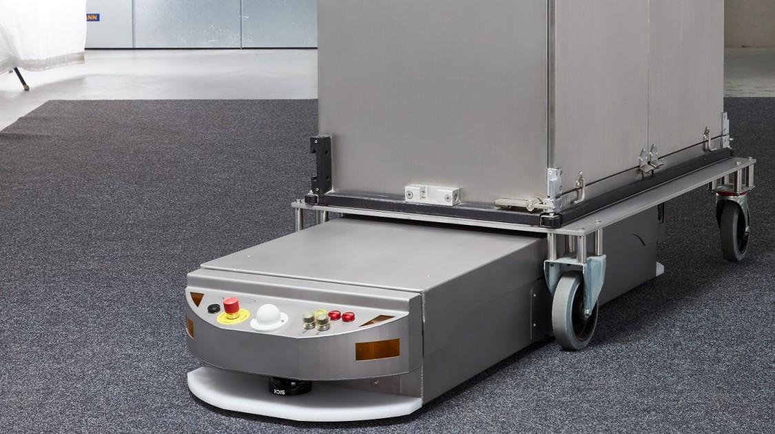 FTS von Siemens navigieren per Laser und benötigen keine Umbaumaßnahmen