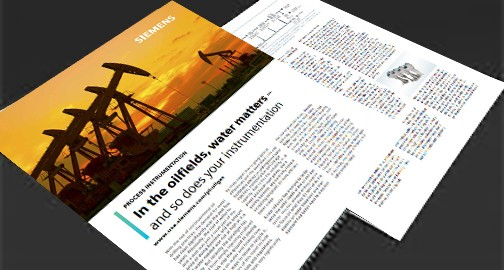 USA - water solutions for oil and gas white paper