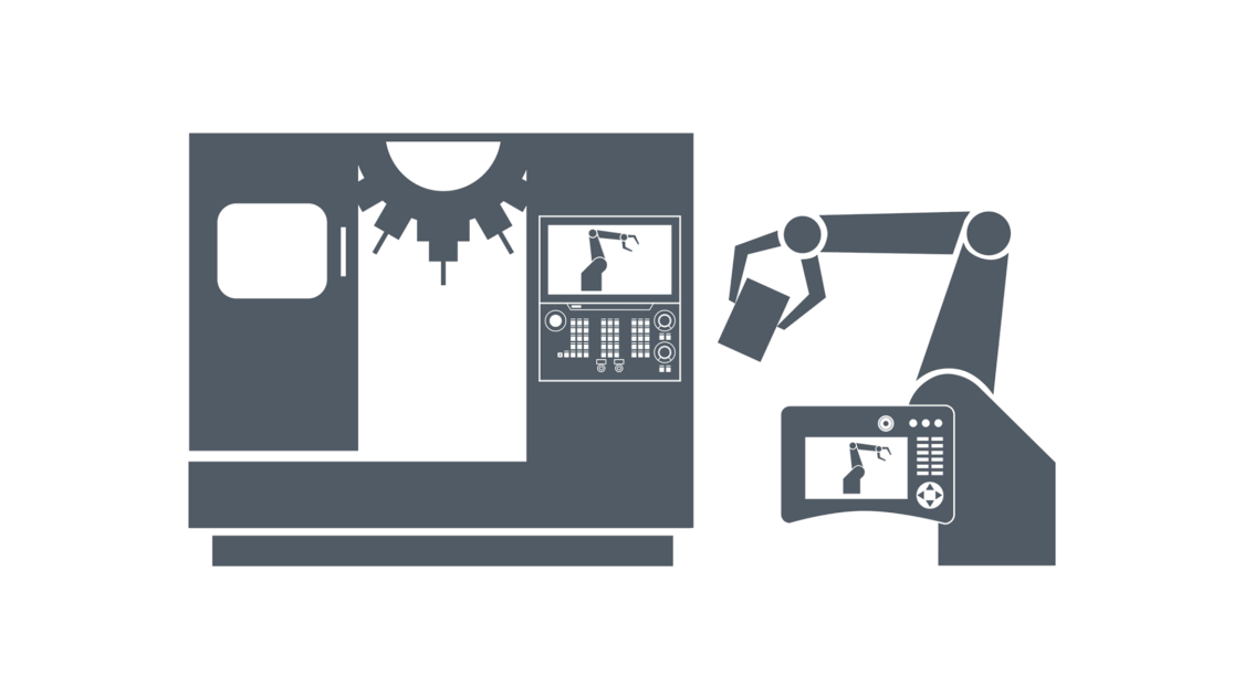 Visualisierung SINUMERIK Run MyRobot /EasyConnect