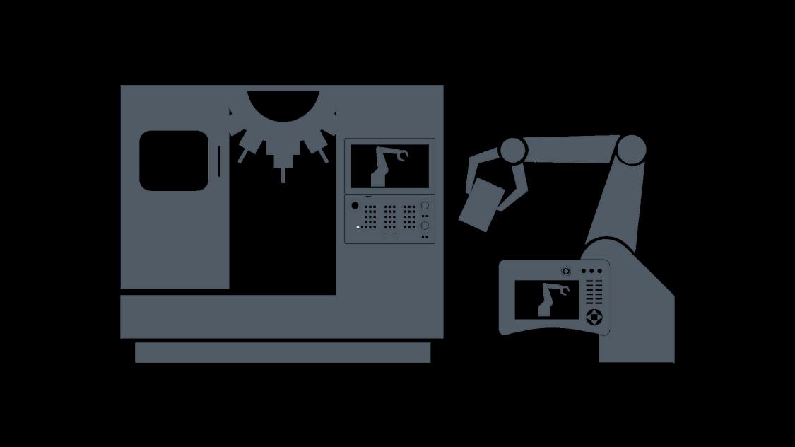 Visualization SINUMERIK Run MyRobot /EasyConnect