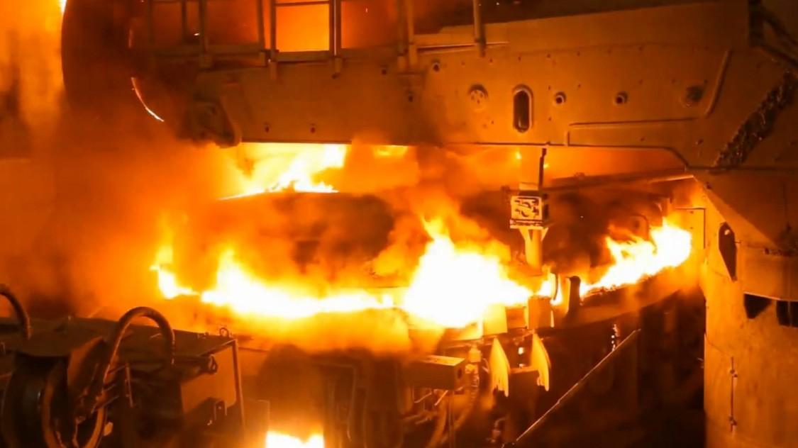 Беспроводная сеть для сталелитейного завода