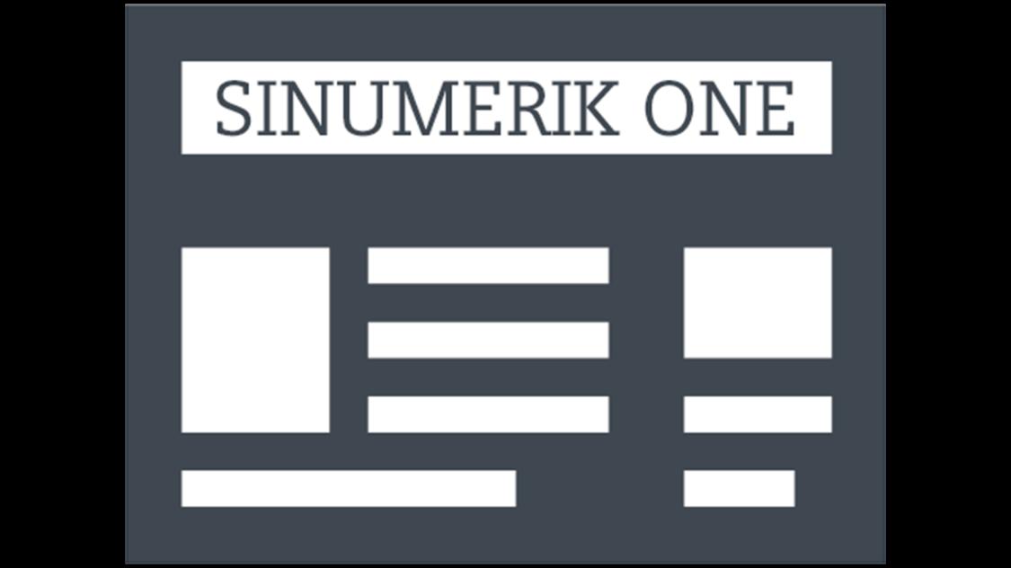 sinumerik one news