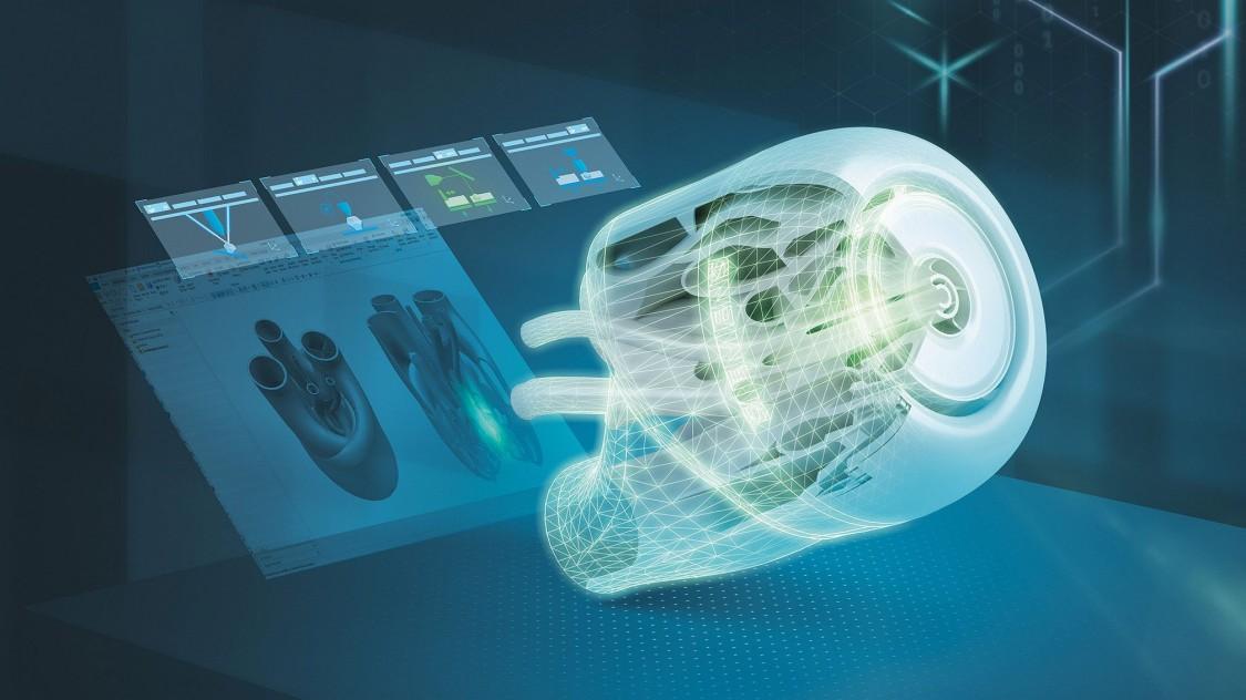 数字化企业业务组合中的一体化尖端技术能够实现数据的智能应用。信息技术与运营技术相融合,为工业领域数字化转型铺平道路,增材制造推动数字化技术和数字化转型。
