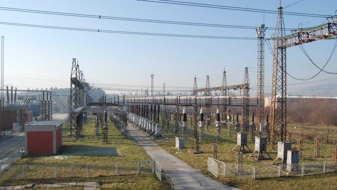 CET Energy Ltd. electric power substation in Sarajevo, Bosnia and Herzegovina
