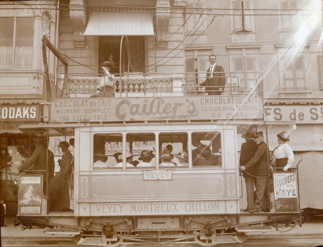 elektrische Straßenbahn der Schweiz, 1888