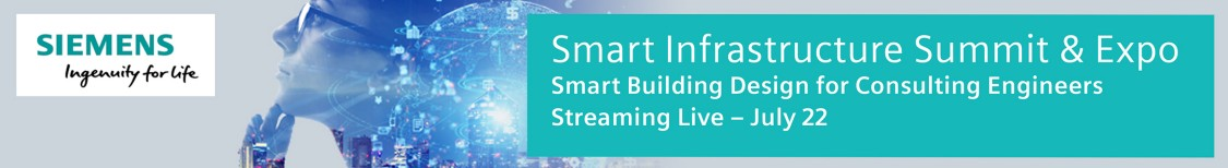 Siemens Smart Infrastructure Summit & Expo - Smart Building Design for Consulting Engineers banner