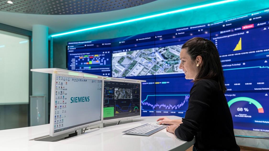 Siemens Campus Microgrid