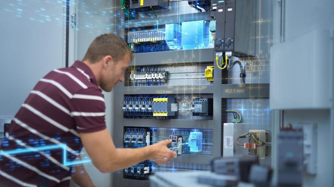 Einbau von SIRIUS Schalttechnik in einen Schaltschrank