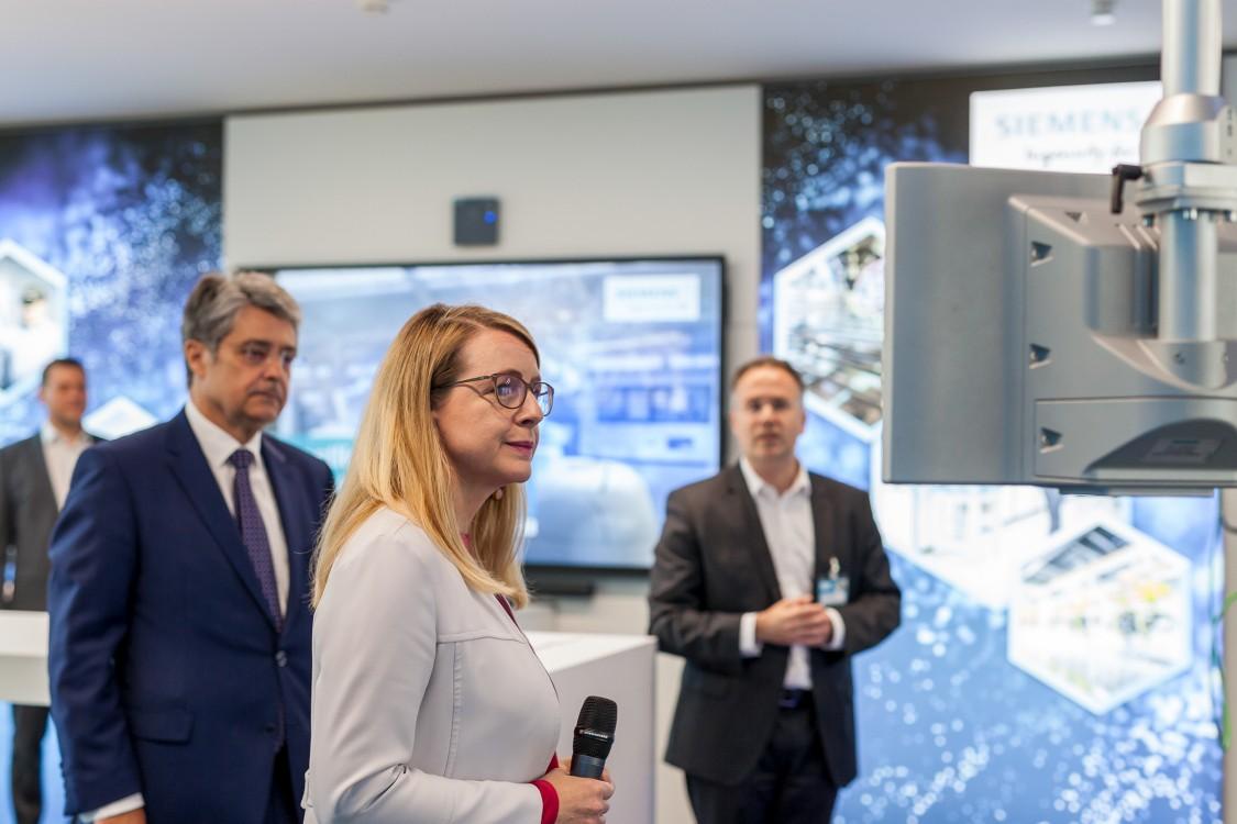 Eröffnung des DigiLab in der Wiener Siemens City