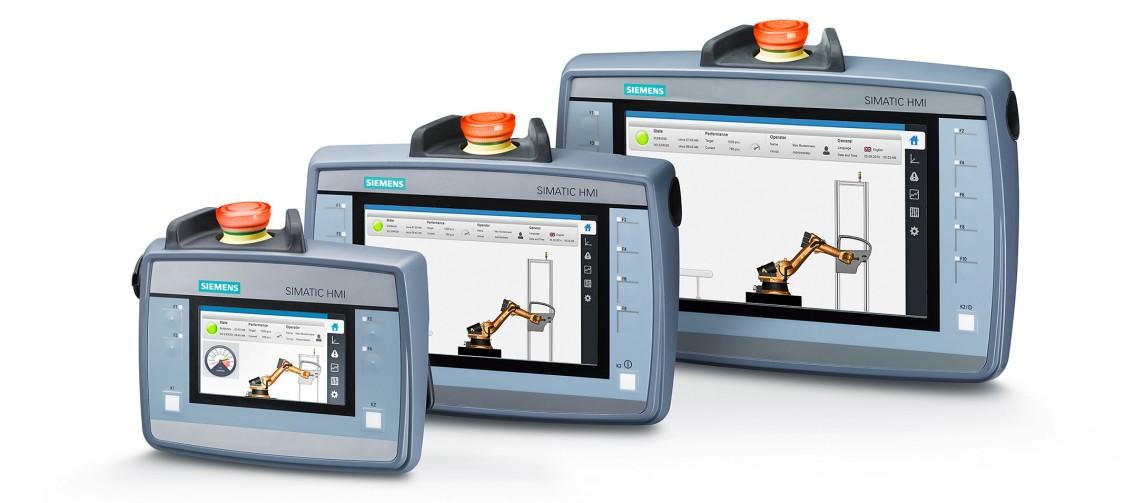 simatic hmi - mobilne panele operatorskie