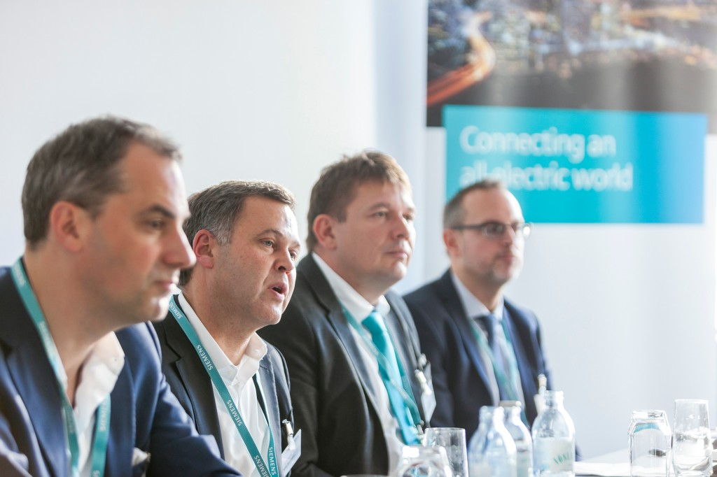 Siemens auf der European Utility Week 2018