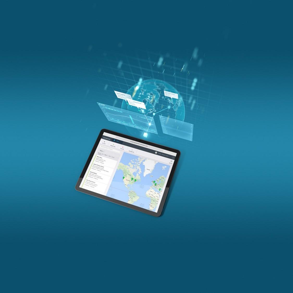Building Operator cloud application tablet