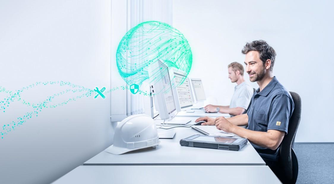 Technischer Artikel Industrial 5G