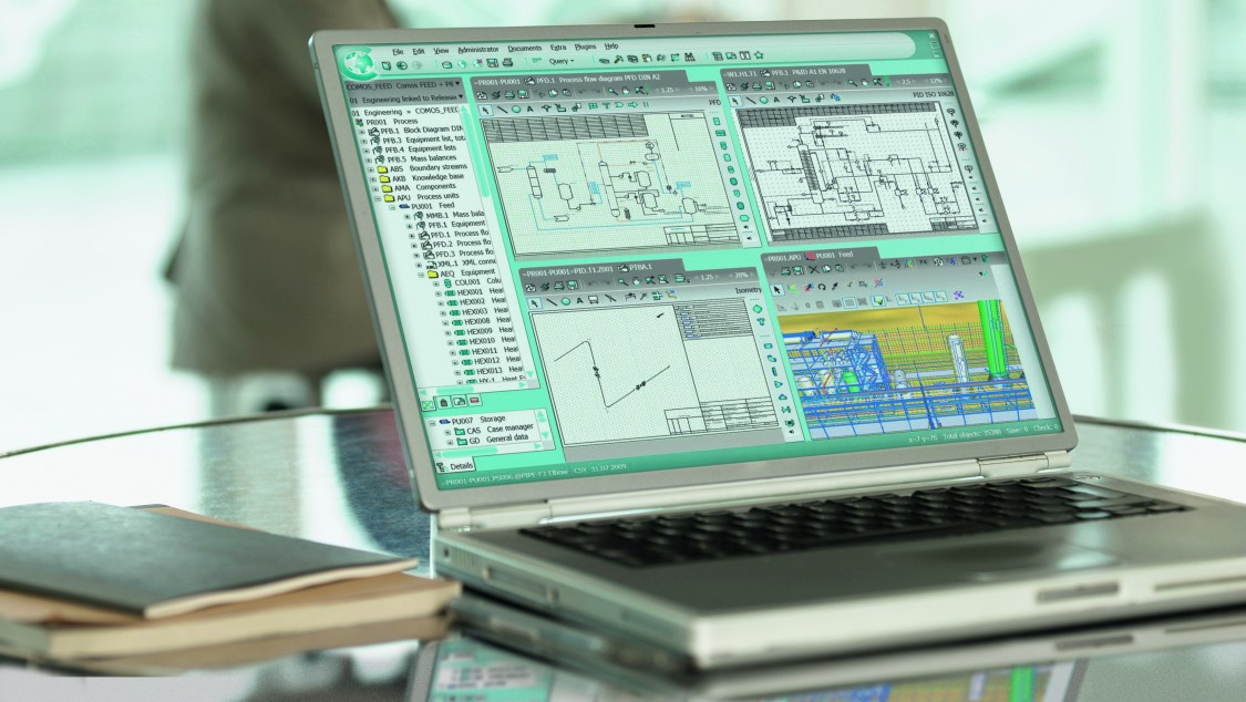 COMOS Platform 采用创新的工作层技术,可优化工作流程。