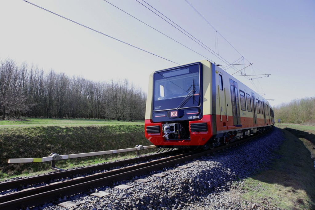 Siemens Mobility is testing new S-Bahn for Berlin at the Test and Validation Center (PCW) in Wegberg-Wildenrath