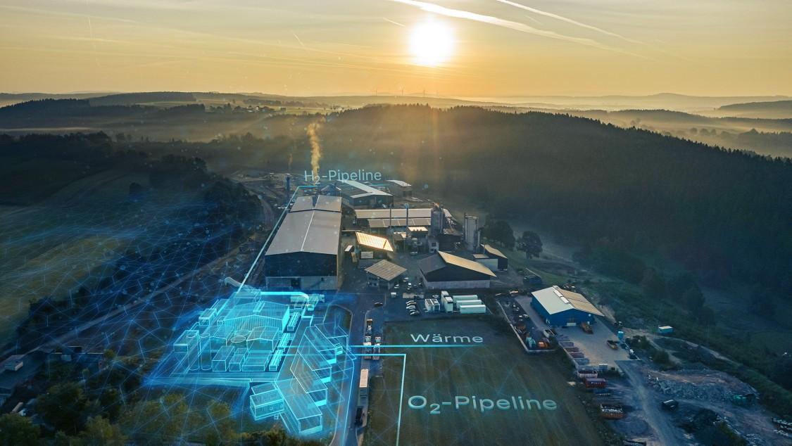 Energieversorgung mit grünem Wasserstoff