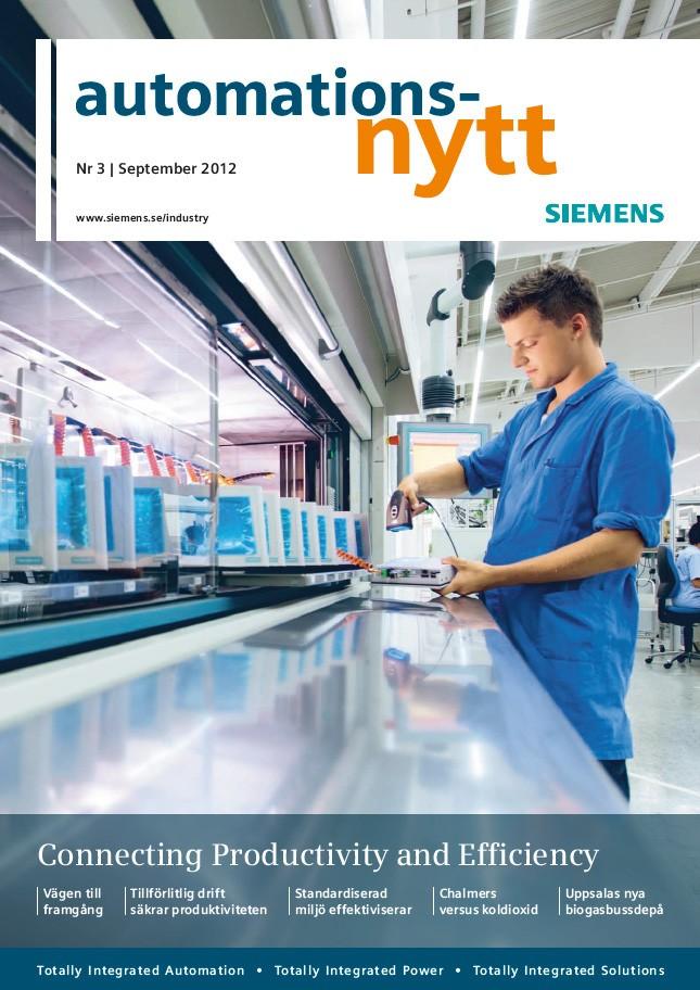 Automationsnytt Nr 3 | September 2012