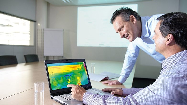 SIMARIS therm ermöglicht die effiziente Wärmebetrachtung im Schaltschrank