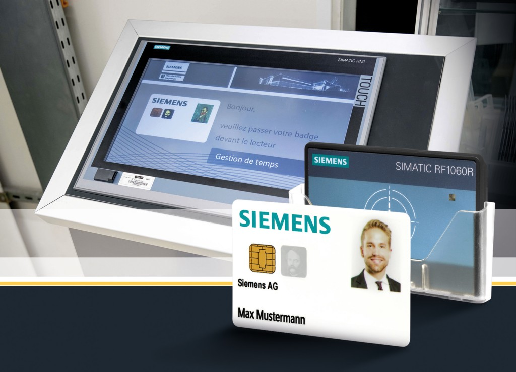 RFID system simplifies access control for operating personnel at machines and plants