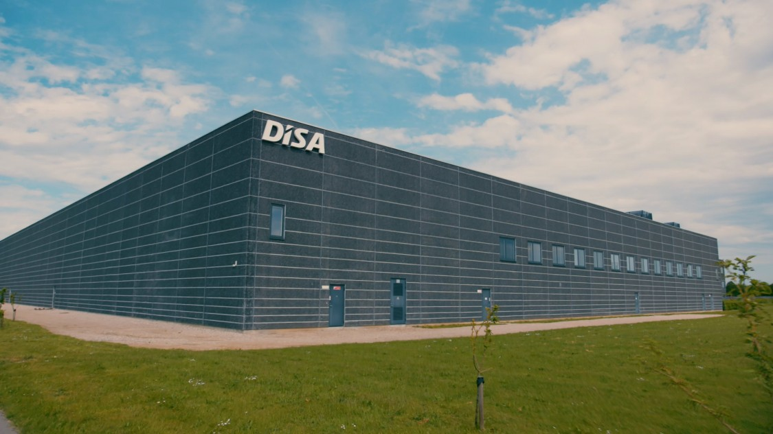 DISA stellt hochwertige Formmaschinen für die Gießerei Industrie her