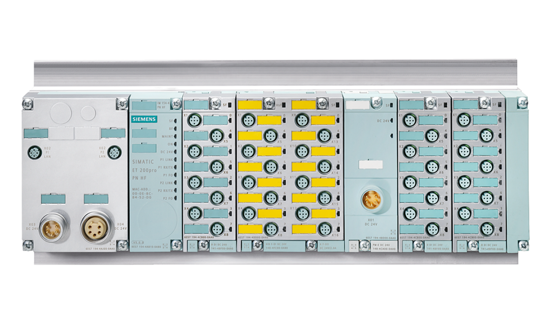 SIMATIC ET 200pro mit Safety Integrated