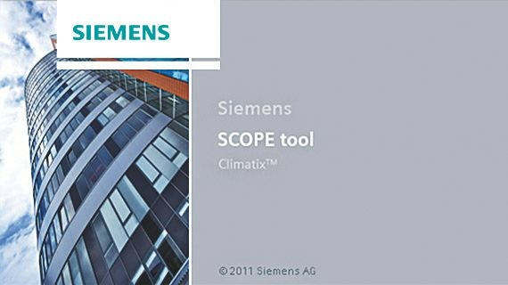 Climatix SCOPE engineering tool