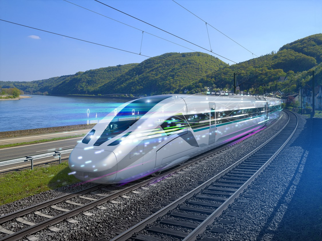 Braking systems for high speed trains