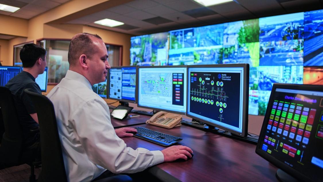 Traffic Management Center Seattle