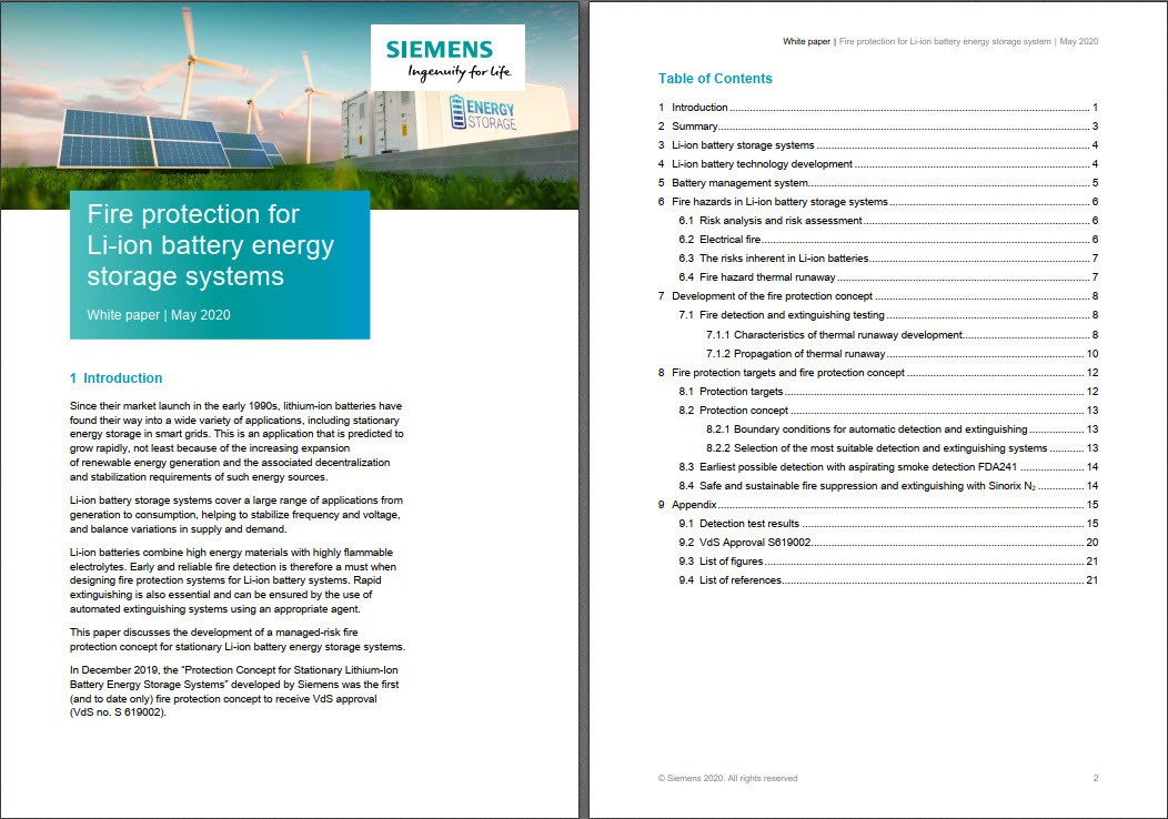 stationary Li-ion battery energy storage systems in data centers