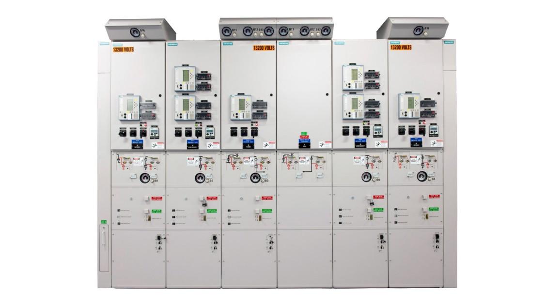 Siemens medium-voltage gas-insulated arc-resistant switchgear