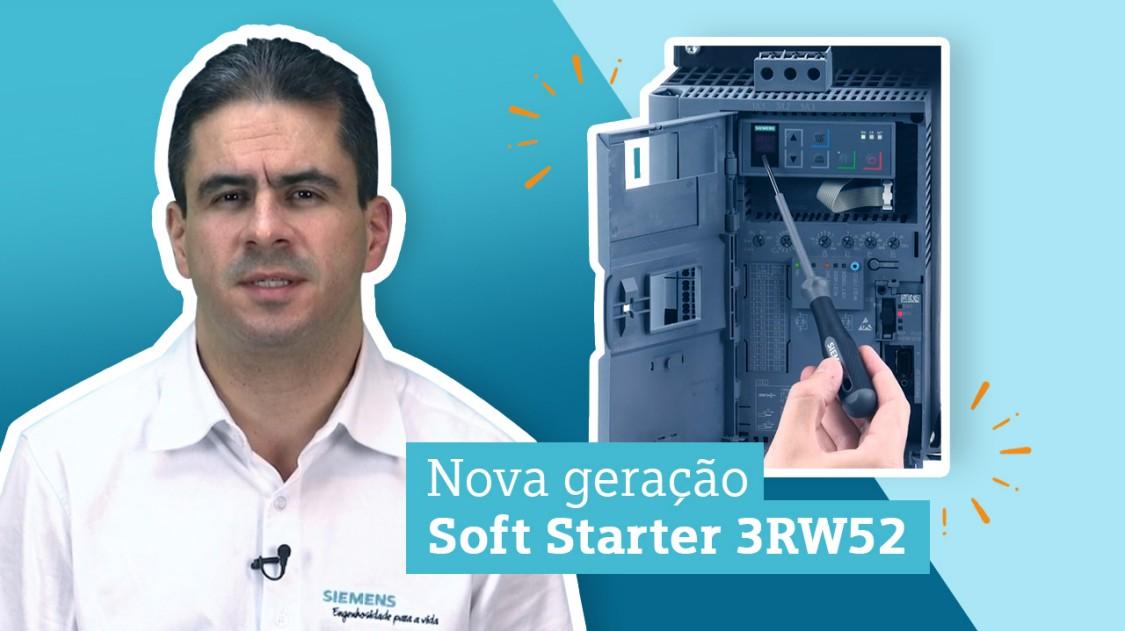 Thumbnail Vídeo Soft Starter 3RW52