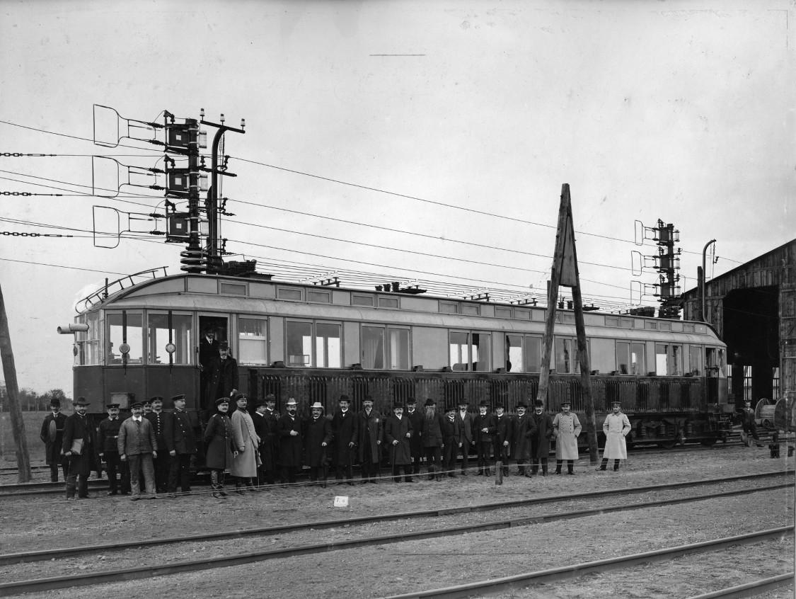 Siemens' railcar, 1903