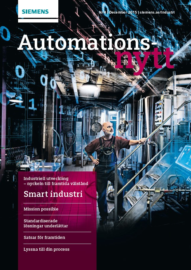 Automationsnytt Nr 4 | December 2015
