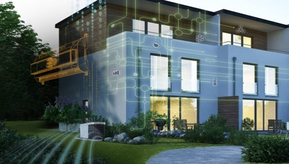 Innovative control systems for residential up to commercial heat pumps