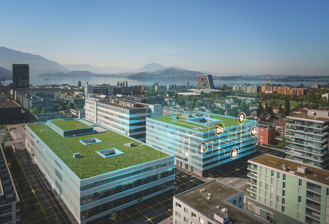 Siemens Campus Zug, Switzerland