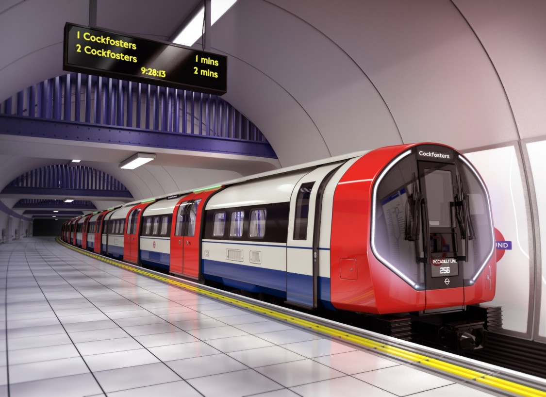 Siemens Mobility Piccadilly line Tube train